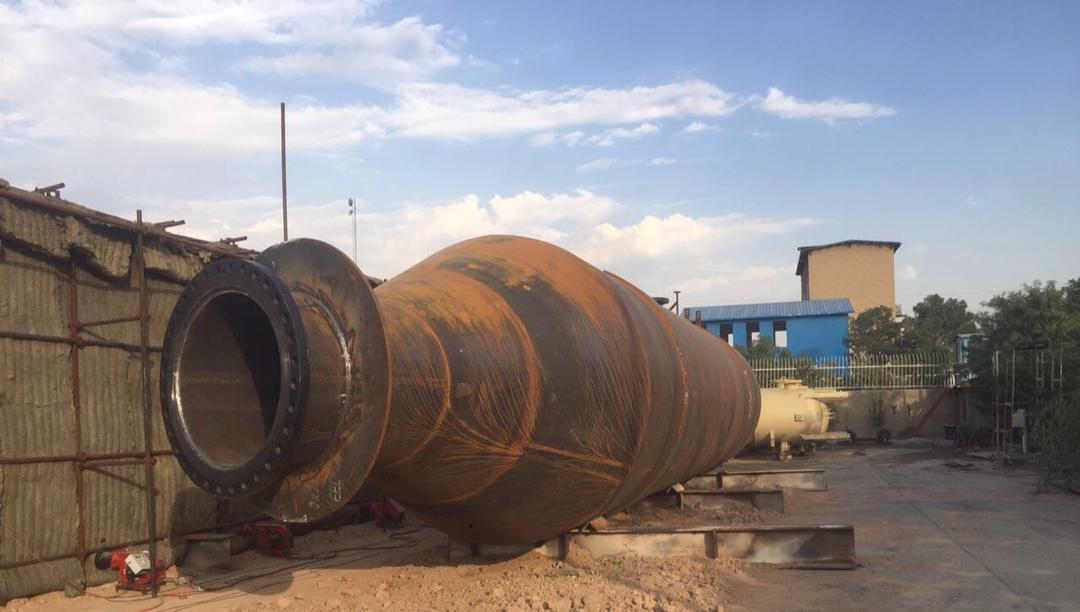 ساخت کوره در محل و تنش زدائی مخازن و سیستم کنترل کوره ایران -کرج